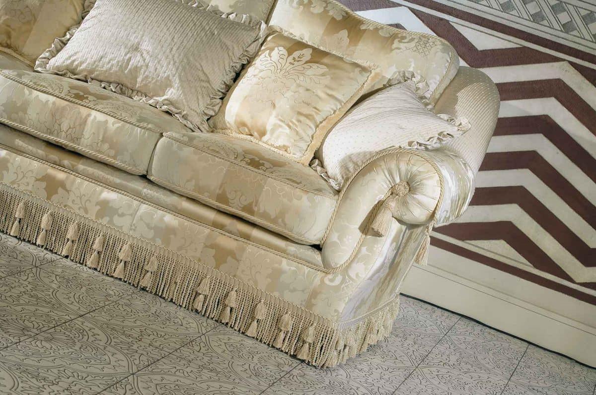 Victoria, Klassischer Luxus Sofa, für feine Aufenthaltsräume