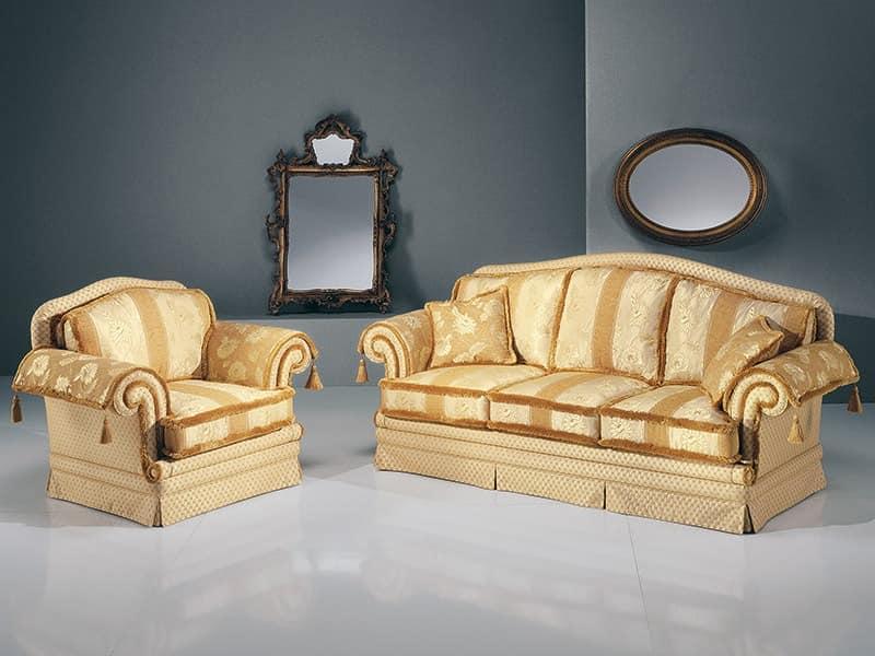 sofas polstersitze sofas polstersitze klassische stil luxus und klassisch idf. Black Bedroom Furniture Sets. Home Design Ideas