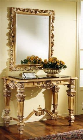 3100 SPIEGEL, Geschnitzte Spiegel für Luxus-Hotels