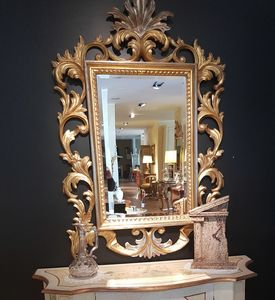 Art. 181, Handgeschnitzter Spiegel, zum Outlet-Preis