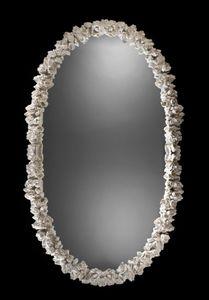 Art. 20462, Ovaler Spiegel mit Schnitzereien