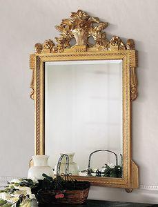 Art. 205/S, Klassischer Spiegel mit Schnitzereien