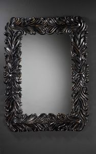 Art. 20702, Wandspiegel, glänzend schwarze Farbe