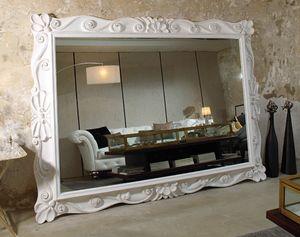 Art. 20930, Großer Spiegel mit geschnitzten Rahmen