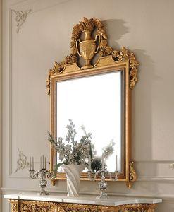 Art. 262/S, Klassischer Spiegel aus geschnitztem Holz