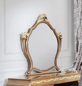 ART. 3053, Klassischer Nussbaum Spiegel