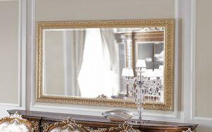 ART. 3059, Spiegel mit Blattgoldrahmen