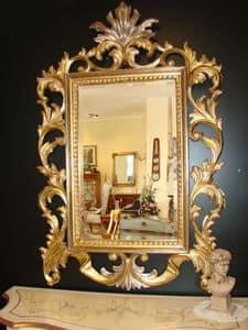 Art. 400, Klassische Spiegel mit Gold-Finish, für zu Hause