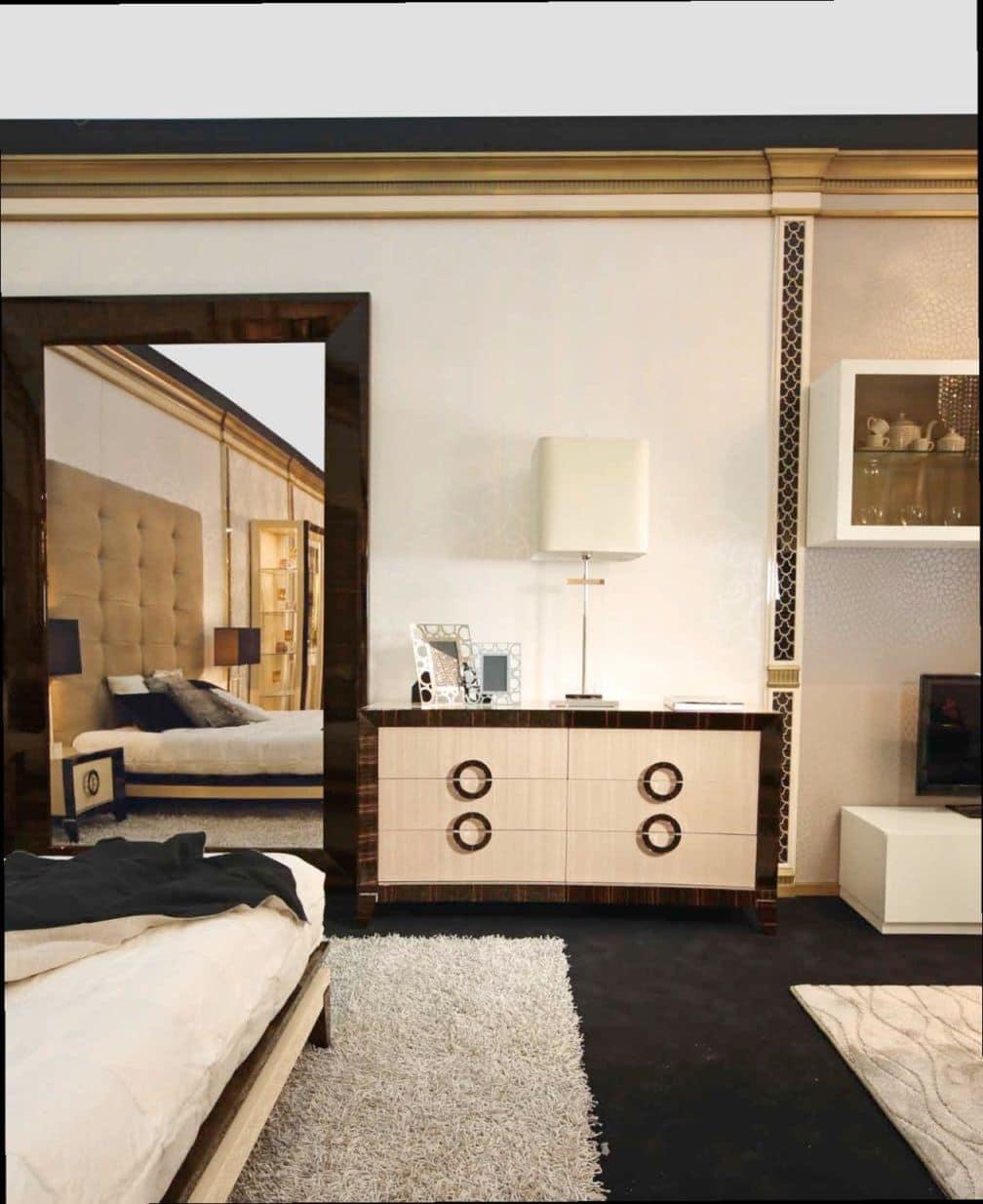 rechteckiger spiegel mit rahmen f r wohngebiete idfdesign. Black Bedroom Furniture Sets. Home Design Ideas