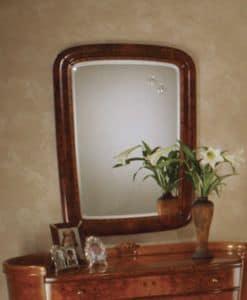 Flory Spiegel, Klassischen rechteckigen Spiegel in Ash