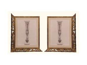 Frame art. 102, Rahmen aus Lindenholz, venezianischen Stil