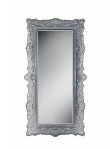 Louvre Spiegel, Spiegel im Epochenstil mit Glasrahmen