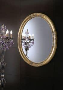 Orchidea Spiegel, Runder Spiegel für Wohn geeignet