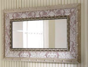 QUEEN Spiegel 2, Spiegel mit Stoffrahmen