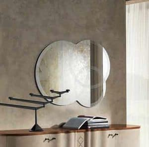 SP19 Iride, Siebdruck-Spiegel durch drei überlappende Kreise gebildet
