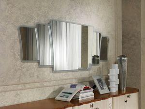 SP33 Mistral, Spiegel mit Rahmen in modernem Stil