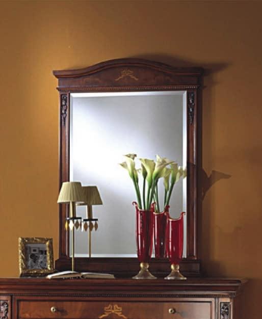 Klassische Spiegel klassische spiegel aus holz mit geschliffenem glas idfdesign