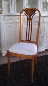 2210 STUHL, Stuhl mit hoher Rückenlehne, klassischer Stil