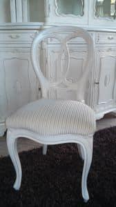 300 STUHL, Stuhl ohne Armlehnen, klassischer Stil