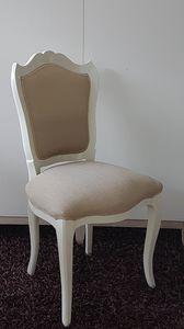 3520 Stuhl, Englisch Stil Stuhl, mit gepolstertem Sitz und Rückenlehne
