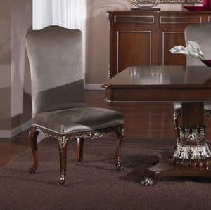 3625 STUHL, Klassischer Stuhl für Esszimmer geeignet