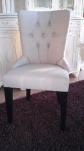 8236 STUHL, Stuhl mit gepolsterter Rückenlehne