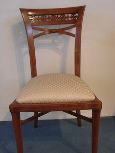Art. 120, Empire Style Stuhl mit gepolstertem Sitz