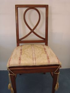 Art. 121, Esszimmerstuhl mit gepolstertem Sitz