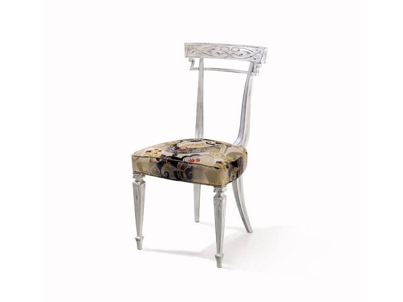 Art.244 chair, Anpassbare Buche Stuhl, Luxus im klassischen Stil