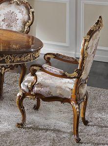 ART. 2968, Stuhl im klassischen Stil mit Armlehnen