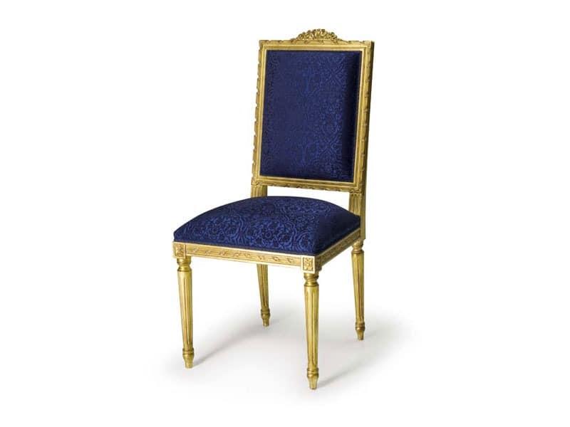 Gepolsterter stuhl aus buchenholz im stil louis xvi idfdesign Sofa minotti preise