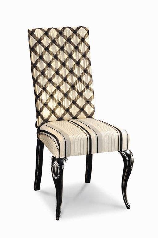 gepolsterter holzstuhl mit schnitzereien f r hotels idfdesign. Black Bedroom Furniture Sets. Home Design Ideas