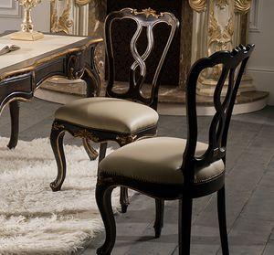 Art. 5096, Stuhl mit handgefertigten Dekorationen