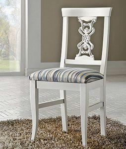 Exclusive Stuhl, Lackierter Stuhl im klassischen Stil