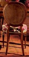 Hepplewhite chair 760, Esszimmerstuhl mit gepolstertem Sitz