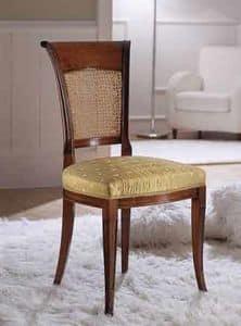 M 605, Stuhl mit Stuhllehne, mit sinusförmigen Linien