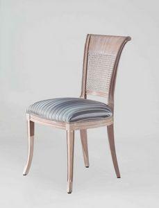 S18, Klassischer Stuhl mit Rohrrücken