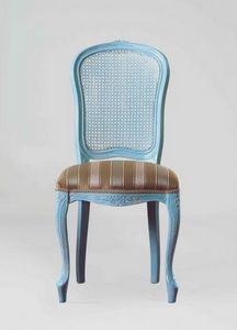 S19, Klassischer Stuhl mit Rohrrückenlehne