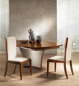 SE52 Galileo, Gebeizter Esche Stuhl, im klassischen zeitgenössischen Stil