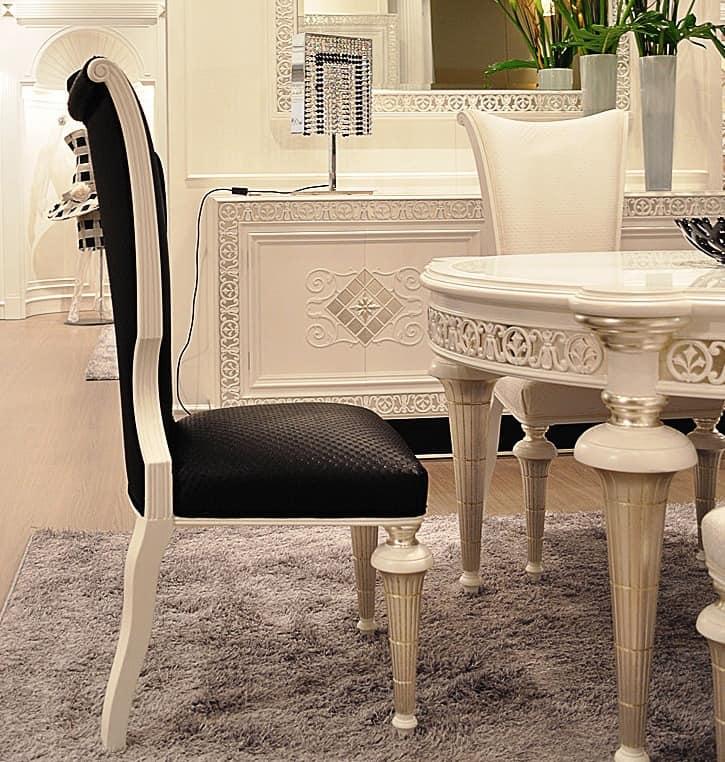 Luxus Esszimmer Stühle : Handdekorierter Luxus-Tisch Luxus Esszimmer