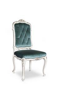 Stuhl 1427, Gepolsterter Luxusstuhl im klassischen Stil