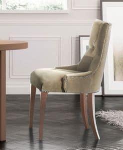 Touche, Luxury klassischen Stuhl, gesteppt, für camera Hotel