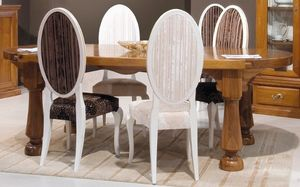 '500 173, Tisch mit Platte aus einem einzigartigen Stück Walnuss
