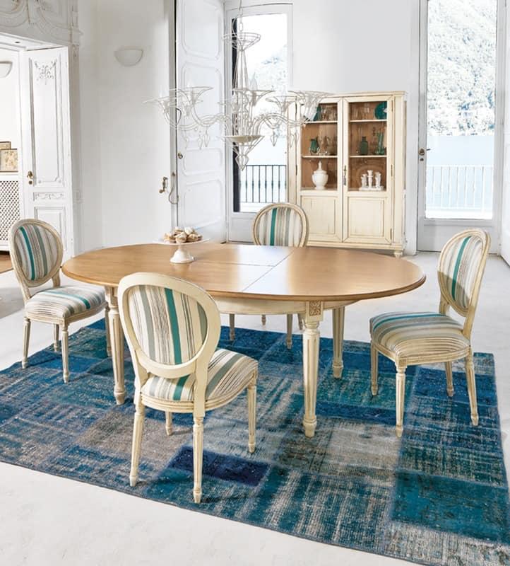 klassische holztisch f r den wohnbereich oder f r die k che idfdesign. Black Bedroom Furniture Sets. Home Design Ideas