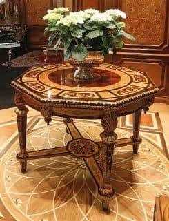 Art. 1185, Achteckige eingelegten Tisch, für Luxus Hotels und Wohnungen