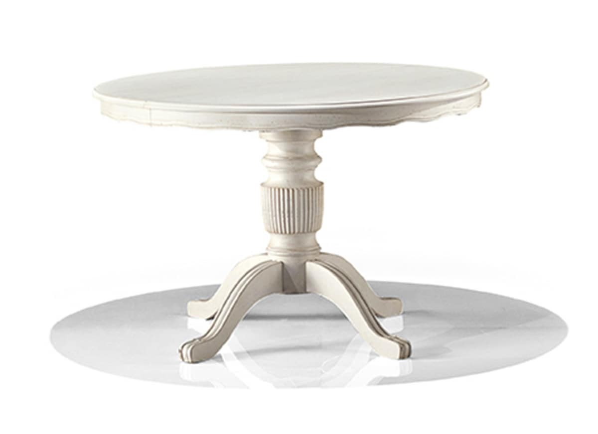 2572/T, Erweiterbarer Runder Tisch