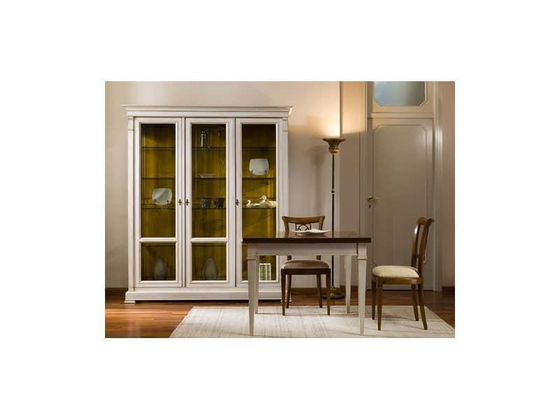 tische tische klassische stil zeitgen ssischer klassisch quadratisch idfdesign. Black Bedroom Furniture Sets. Home Design Ideas