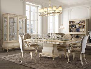 Florentia Tisch, Esstisch aus Holz für klassische Möbel