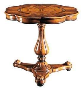 Gentilini RA.0685, Tabelle mit nur einem Stamm, der für Luxus klassischen Wohnzimmer
