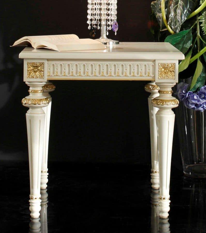 luxus wohnzimmer tische:Tische kleine Tische klassische Stil Luxus und klassisch quadratisch  ~ luxus wohnzimmer tische
